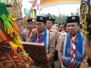 Bupati Batanghari Dampingi Gubernur Jambi Buka Acara Persemi