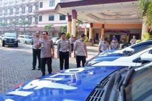Kapolda Apresiasi Predikat WBK dan WBBM Ditlantas Polda Jambi hingga Serahkan Kendaraan Dinas