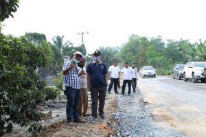 PUPR Provinsi Jambi Perlebar Ruas Jalan Ness 6 Meter Sepanjang 1 KM