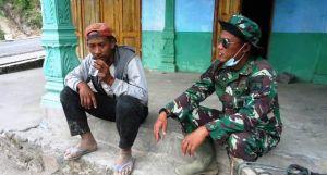 Warga Nyatakan Beruntung Desa Sangup Dijadikan Sasaran TMMD