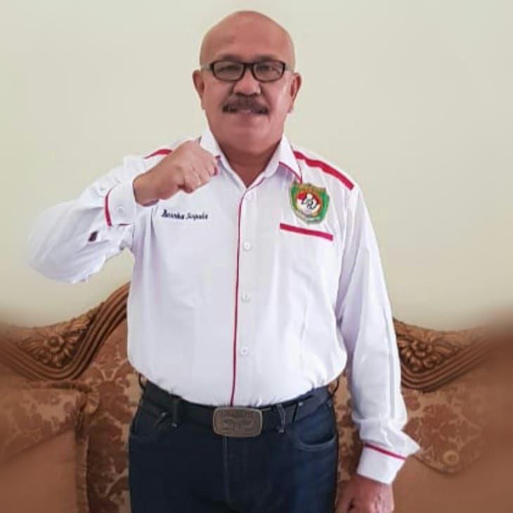 Ketua Umum Pertina Pengprov Jambi AKBP Purn Basoka Sagala