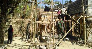 Bahagianya Keluarga Haryoko, Rumah Direhab TNI