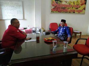 Kandidat Cabup Batanghari Mahdan Datangi PDIP Ikuti Uji Kelayakan