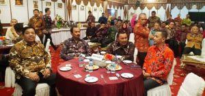Wabup Amir Sakib Hadiri Jamuan Makan Malam Gubernur Jambi bersama LSM Rikolto Belgia