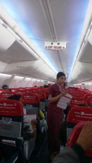 Pesawat Lion Air Pagi Ini Gagal Mendarat Karena Kabut Asap Tebal