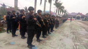 Ratusan Personil Polres Tanjabbar Diterjunkan di 56 Desa, Ini Tugasnya