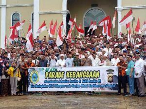 Deklarasi Parade Kebangsaan di Tanjabtim Siap Dukung Pelantikan Jokowi-Maruf