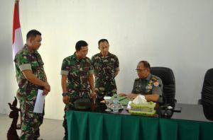 Tim Pengendalian Program TNI AD Sambangi Korem 042/Gapu, Ini Tujuannya