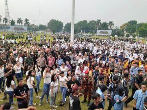 Forkompinda dan Masyarakat Jambi Deklarasi Pelantikan Presiden dan Wapres RI Aman dan Damai