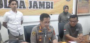 Polda Jambi Tetapkan PT DSSP di Tanjabtim dan PT MAS di Muaro Jambi Jadi Tersangka Karhutla