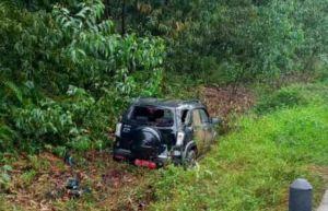 BREAKING NEWS: Mobil yang Ditumpangi Istri Kadis PUPR dan Kasatpol PP Jambi Nyungsep ke Jurang