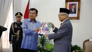 Sertijab, Wapres Ma'ruf Amin Puji Jusuf Kalla