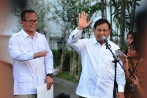Masuk Bursa Menteri Jokowi,  Prabowo: Saya Diminta Membantu Presiden di Bidang Pertahanan