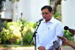Ketua Umum DPP Golkar Airlangga Hartarto Siap Jadi Menteri Lagi