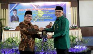 Prof Suaidi Sertijab Dengan Plt Rektor UIN Jambi
