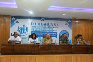 Safrial Hadiri Deklarasi Pengurus JADI Tanjab Barat