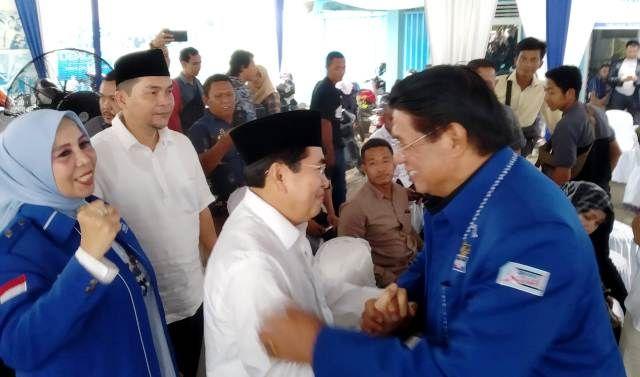 Singgung AHY Tak Masuk Kabinet , AJB Minta Diusung,  Angkat Martabat Partai Karena Politik Itu Kejam