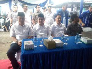 Seluruh Anggota Fraksi di DPRD Provinsi Jambi Sambut AJB Kembalikan Formulir di Demokrat