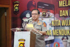 Kapolda Buka Rakernis Pelatihan TIK Sekaligus Luncurkan Aplikasi Polisi Jambi