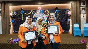 Ikuti Lomba Debat Nasional di Bangka Belitung, Deby CS Boyong Piala Ke Jambi