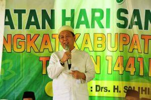 Bupati Hadiri Tabligh Akbar Hari Santri Nasional Ke- V Tingkat Kabupaten Batanghari