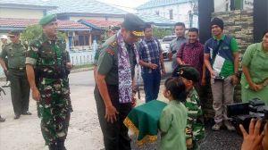 Sambangi Kodim 0419/Tanjab, Ini Pesan Pangdam  II/Sriwijaya Mayjen TNI Irwan
