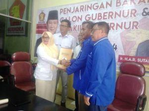 Jadi Partai Ketujuh, Bakri Utus Pengurus PAN Ambil Formulir di Gerindra