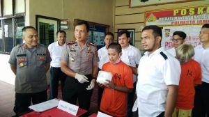 Hendak Transaksi 1 Kg Sabu Di Halaman Masjid Agung, Warga Tanjung Katung Ditangkap
