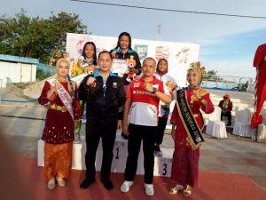Raih Medali Emas Lagi, Aura Filazani Atlet Renang Asal Jambi Cetak Hattrick di Porwil Bengkulu