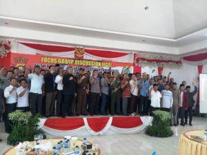 89 Calon Kepala Desa di Tanjabtim Ikuti Deklarasi Damai