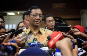 Belum Diputuskan, Menko Polhukam Sebut Kurang Tepat Berita Presiden Tolak Keluarkan Perppu KPK