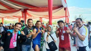 Cabor Muaythai di Porwil Bengkulu Tambah Dua  Medali Emas Untuk Jambi