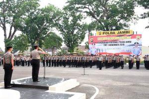 Polda Jambi Sumbang Rp304,7 Juta ke Korban Gempa Bumi di Ambon