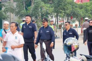 Amir Sakib Lepas Peserta Jalan Santai Peringatan HKN