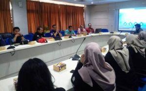 Wartawan dan Humas Pemkot Jambi Jambi Studi Banding Ke Batam Pos serta Pemkot Batam