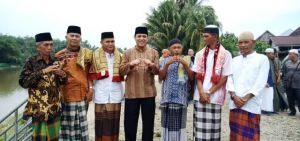 Kedatangan RI di Dusun Lubuk niur Disambut Dengan Cinta