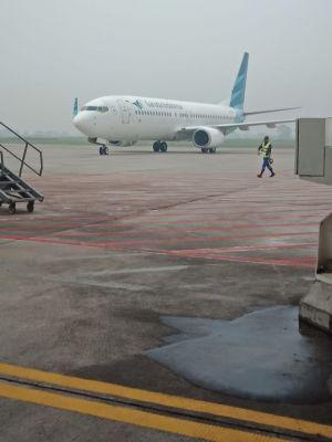 Tumpangi Pesawat Garuda, Zola Tiba di Jambi Jadi Saksi di Sidang Asiang