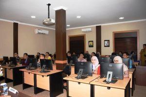 Karo SDM Polda Jambi Buka Assessment Pejabat Eselon Pemkot Jambi