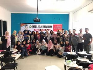Mahasiswa STISIP NH Antusias Mengikuti Kuliah Umum Jurnalisme TV Bersama Wartawan GTV Jakarta