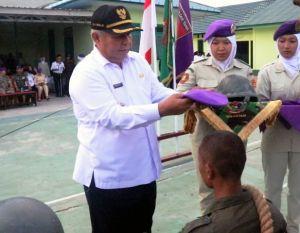 Bupati Safrial Tutup Kegiatan Diksar Menwa Sulthan Thaha Jambi