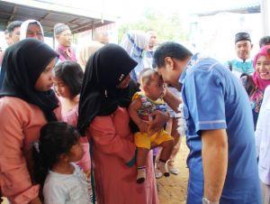 Keprihatinan SAH Terhadap Angka Kematian Balita Indonesia yang Tinggi