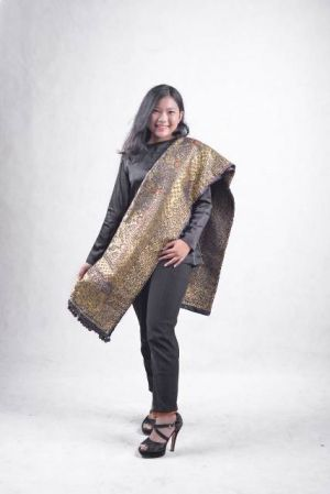 Dhea Tivani Duta Songket Favorit Provinsi Jambi