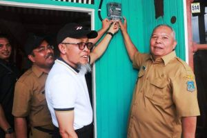 Bupati Safrial Minta Ke PLN Agar Kecamatan Seberang Kota Dialiri Listrik