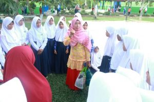 Tim Pembina UKS Provinsi Jambi Nilai Lomba Sekolah Sehat dan UKS di Tanjabbarat