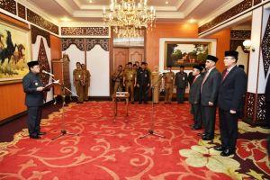Berikut Posisi Lengkap Pejabat Baru di Pemprov Jambi Beserta Plt yang Ditunjuk