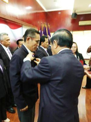 Resmi Dikukuhkan, Mursyid Sonsang Pimpin Komisariat Alumni Lemhannas Provinsi Jambi