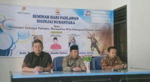 Siginjai Nusantara Jambi Ajak Pemuda Teladani Semangat Pahlawan