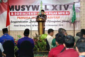 Fachrori Harap Pemuda Muhammadiyah Jambi Generasi Muda Berkompeten
