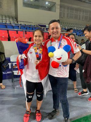 Atlet Putri dari Jambi Juliana Klarisa Tambah Medali Perunggu Untuk Indonesia di Sea Games Filipina