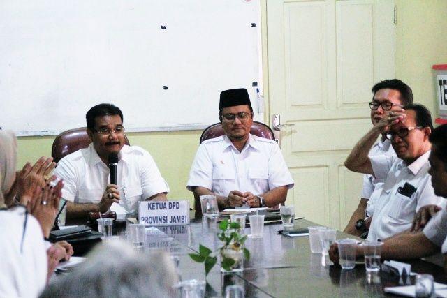 Suasana rapat internal Partai Gerindra